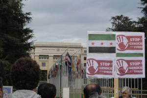 Halte au Génocide des Syriens, Genève, 25.04.2015