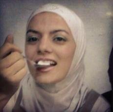 Rehab Alellawi, étudiante universitaire arrêtée le 15.01.2013 et morte sous la torture